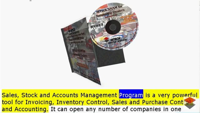 Car Dealer Accounting Software, Motor Cycle Store Software, Scooter Dealer Software, Billing, Invoicing, Inventory Control and Accounting Software for Automobile Dealers, Stockists, Motor Cycle Stores. Modules :Customers, Suppliers, Products, Vehicles, Sales, Purchase, Accounts & Utilities. Free Trial Download.