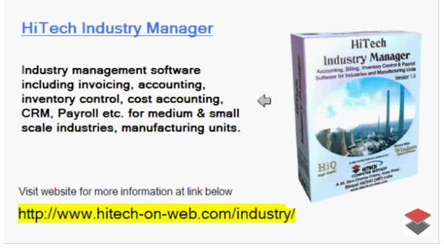 Software for process industry, Accounting, ERP, CRM Software for manufacturing industry, ERP, CRM and Accounting Software for Industry, Manufacturing units. Modules : Customers, Suppliers, Inventory Control, Sales, Purchase, Accounts & Utilities. Free Trial Download.